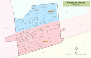 Parkesburg Borough Precincts