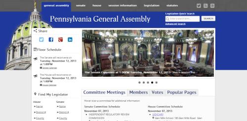 General Assembly website